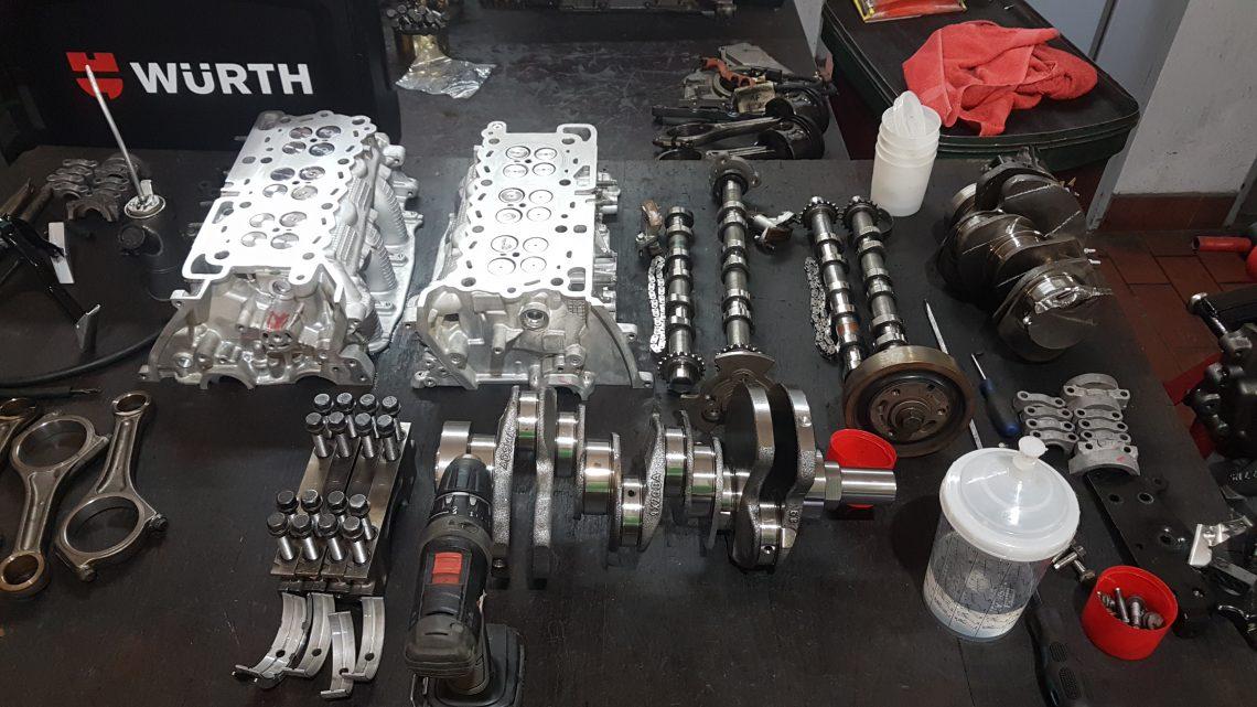 Motorinstandsetzung 3,0 SDV6 und 2,7 TDV6