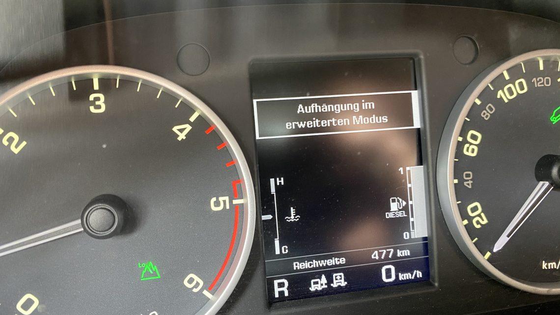 Fahrwerk – Höher- oder Tieferlegung