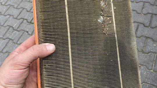 Luftfilter wechseln beim Discovery